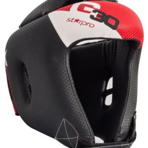 Hoofdbeschermer voor kinderen Starpro G30 | rood-zwart-wit
