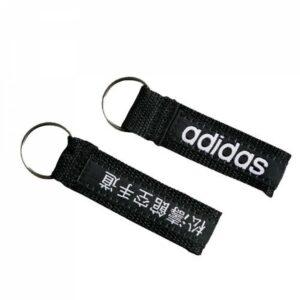 Sleutelhanger met Adidas-logo | zwart-wit