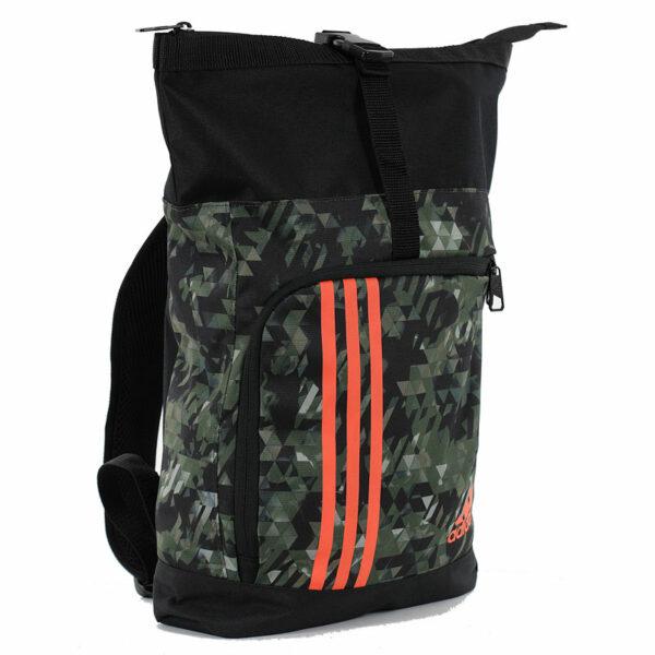 Adidas sporttas en rugzak   zwart-grijs camo