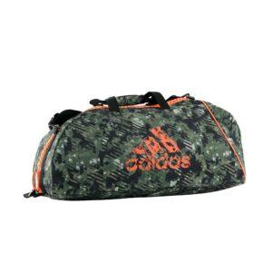 Adidas sporttas groot en groter | groen-grijze camolook