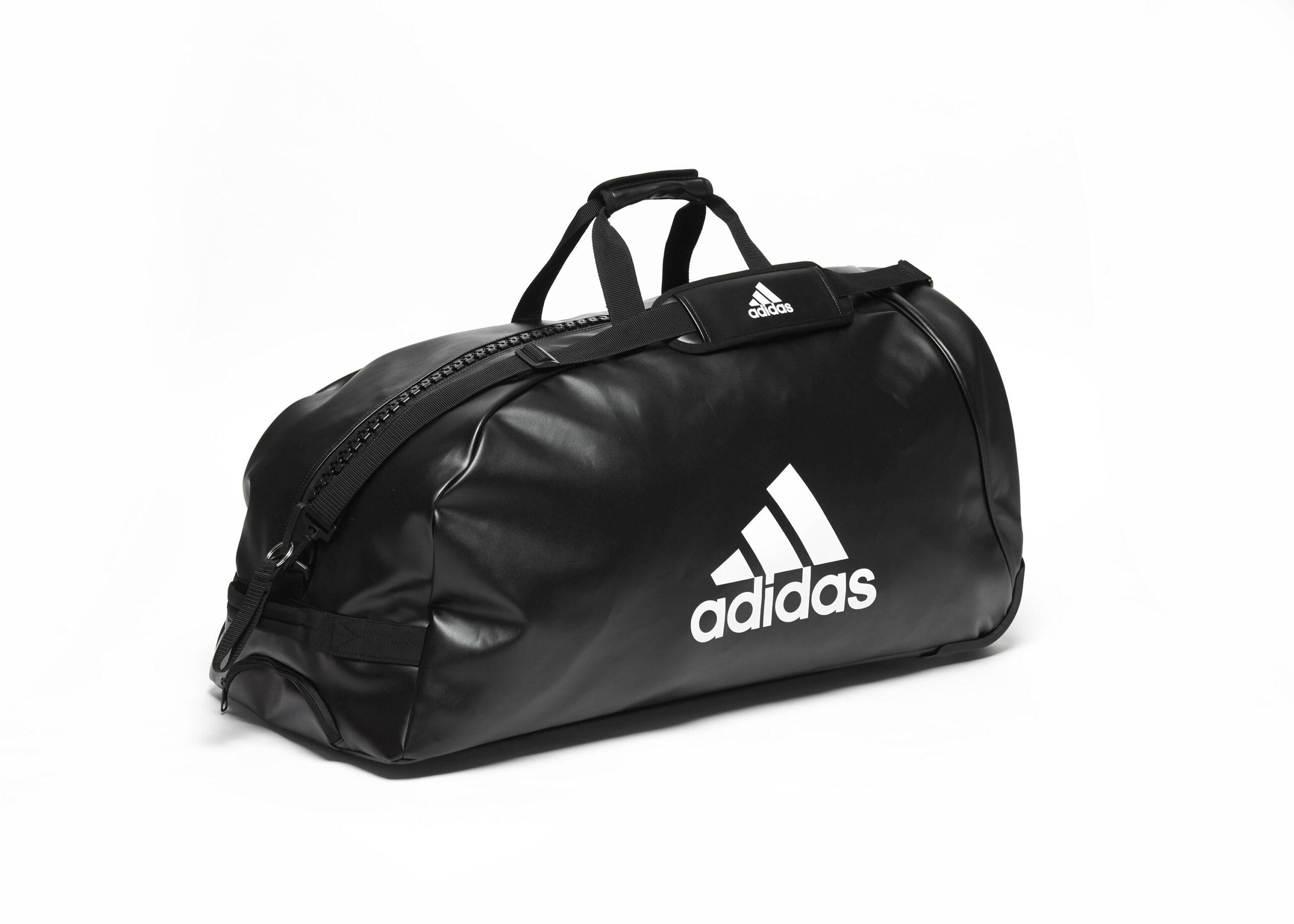 Adidas sporttas-trolley 120 liter | zwart-wit