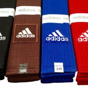 Judoband Adidas Elite | bruin of zwart