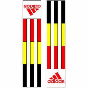 Adidas-schouderlabels voor je judopak | Belgische vlag