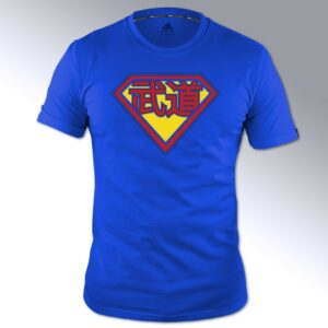 Adidas budo-Superman T-shirt | blauw