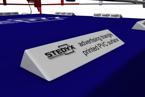 Adverteren in de boksring   Stedyx adverteerbalk   pvc-vinyl