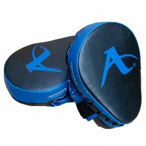 Karate-focushandschoen (precisie-mitt) Arawaza | zwart-blauw