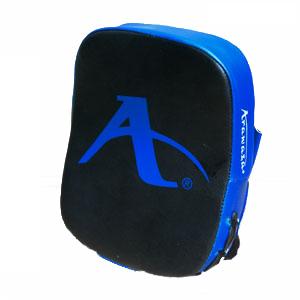 Karate-focushandschoenen (vierkant) Arawaza | zwart-blauw