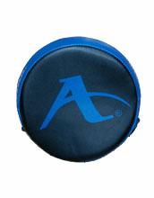 Ronde focushandschoen voor karate Arawaza | zwart-blauw