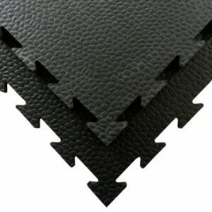 Puzzelmat voor fitness- en gymvloeren Tatamix | 1 cm | zwart