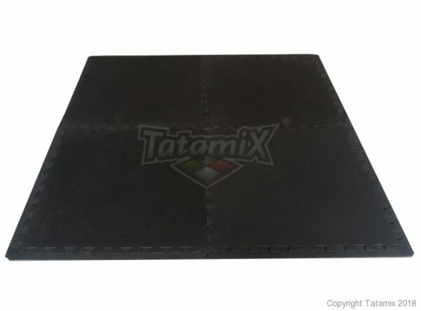 Set van 4 puzzelmatten yoga pilates turnen | Tatamix |1 cm