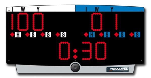 J-Top  Scoreboard Judo   met accu