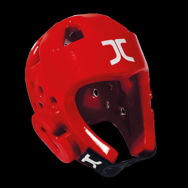 Taekwondo-hoofdbeschermer JCalicu   WT-goedgekeurd   rood