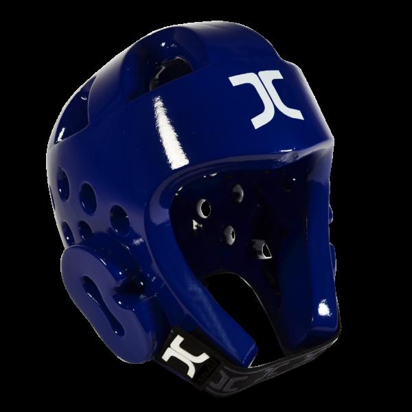 Taekwondo-hoofdbeschermer JCalicu | WT-goedgekeurd | blauw