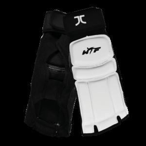 Taekwondo-voetbeschermers JC-Club | WT-approved | wit