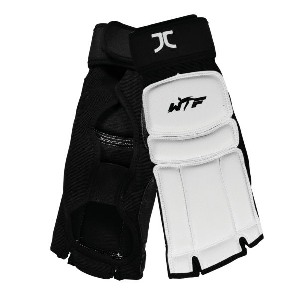 Taekwondo-voetbeschermers JC-Club | WT-approved | wit
