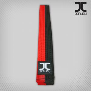 Poom taekwondo-band JC | rood-zwart