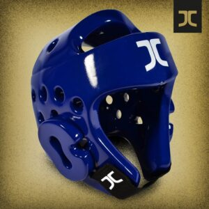 Taekwondo-hoofdbeschermer JC-Club | WT | blauw