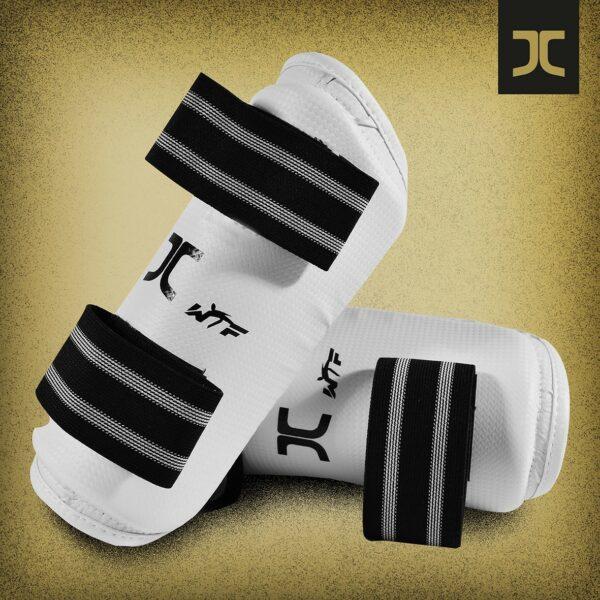 Taekwondobescherming voor je onderarmen JC-Club | WT | wit