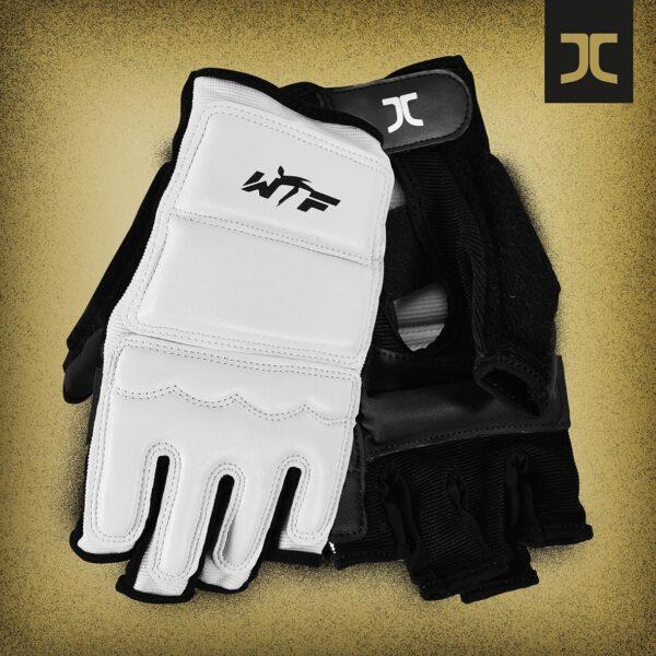 Taekwondo-handbeschermers JC-Club | WT-approved | wit