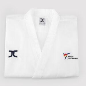 Poomsae taekwondo-pak mannen JC-Club | WT | wit