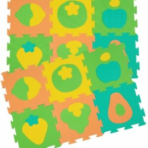 Speelmat in vrolijk fruitpatroon Tatamix | 1