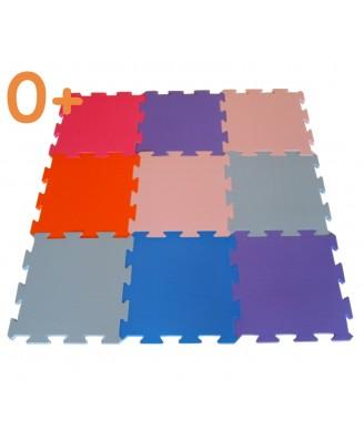 3 cm | 9 stuks pastelmix
