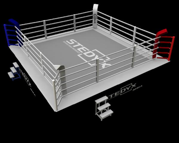 Wedstrijdring voor MMA Stedyx | 5 touwen | 7 x 7 meter