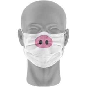 Mondmasker (herbruikbaar) Nihon | varkenssnuit-print