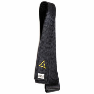 Zijden zwarte band voor budo (zwarte judoband) | Nihon