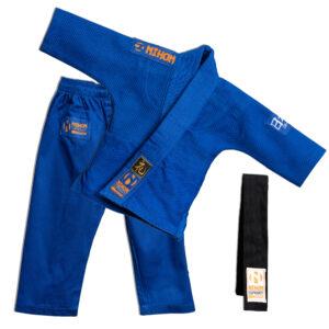 Baby-judopak Nihon Baby Gi | blauw
