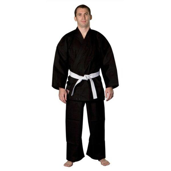 Karatepak voor beginners en kinderen Nihon   zwart