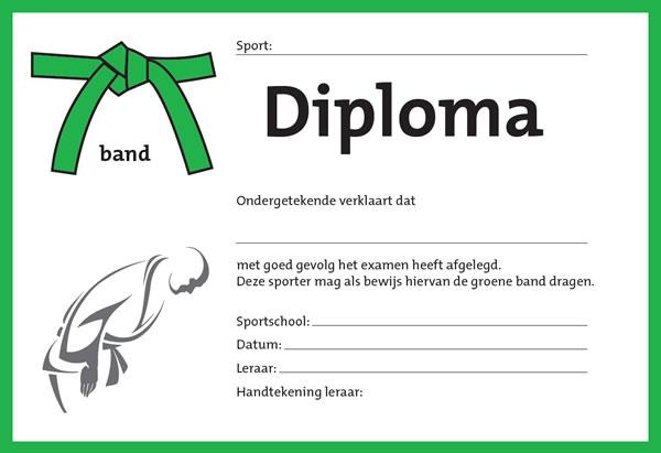 Diploma Groen