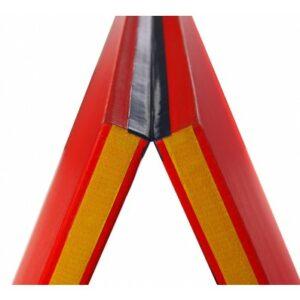 Opvouwbare judomat Tatamix | 200 x 200 x 4 cm | PVC | geel