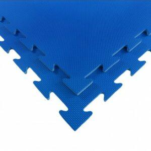 Puzzelmat voor fitness of boksringen Tatamix | 1 cm | blauw