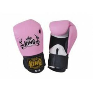 Top King muay thai Boxing gloves ''air'' Pink (OP=OP)