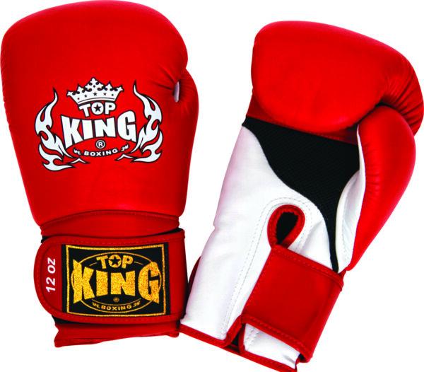 Top King Bokshandschoen Super Air Rood (OP=OP)