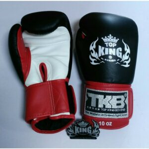 Top King Boxing gloves ''Ultimate'' zwart/rood/wit (OP=OP)