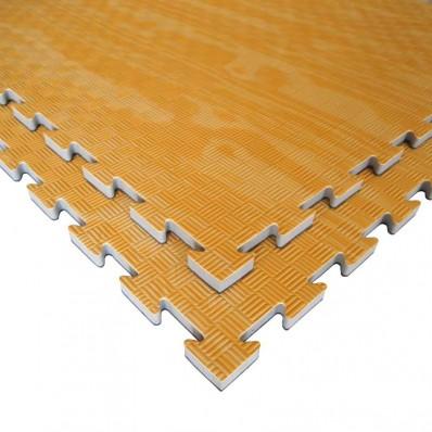 Puzzelmat in houtlook Tatamix | 2 cm | 5-lijnenrelief