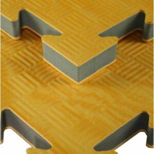 Houtkleurige puzzelmat Tatamix | 2
