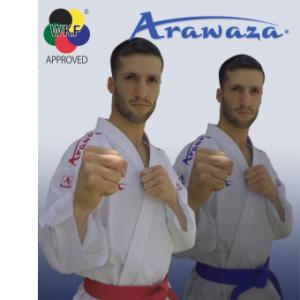 Kumite-karatepak Onyx Zero Gravity (blauw) Arawaza | WKF