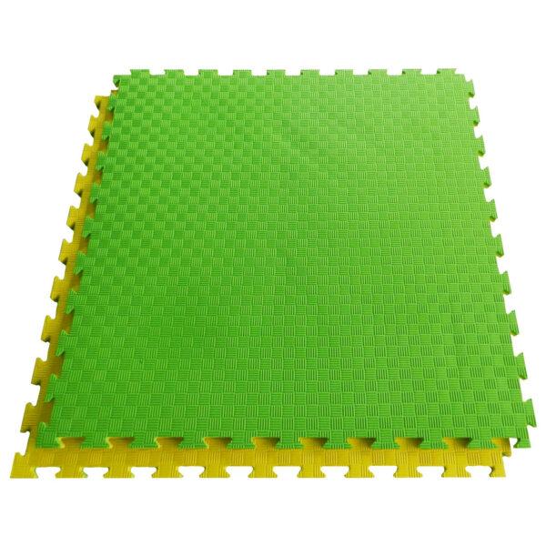 2 cm | 5-lijnenrelief | geel-groen