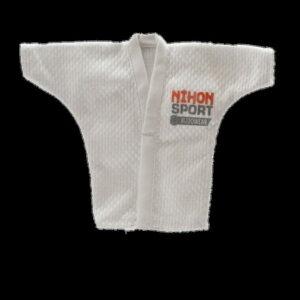 Mini-judogi wit Nihon | wit