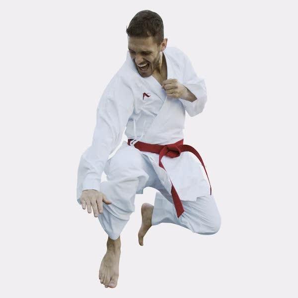 Kumite-karatepak Onyx Zero Gravity (rood) Arawaza | WKF