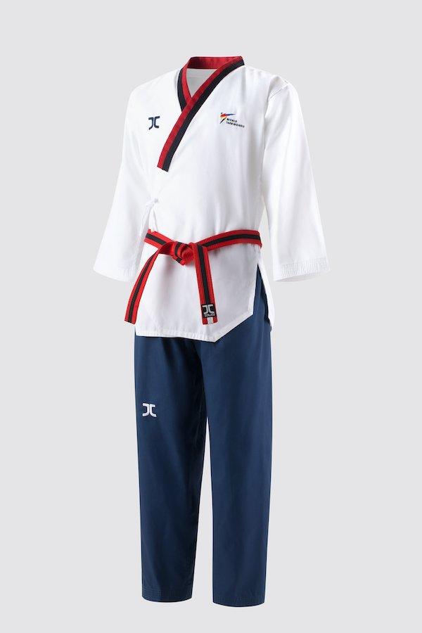 Poomsae taekwondo-pak poom (dobok) voor jongens JC | WT