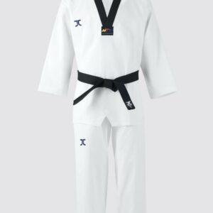 Taekwondo-pak dan (dobok) JC-Club | WT | wit-zwart
