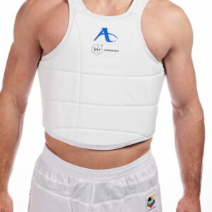 Karate-bodyprotector Arawaza WKF-approved | wit
