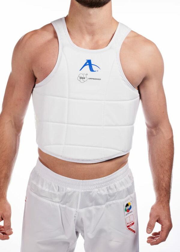 Karate-bodyprotector Arawaza WKF-approved | wit