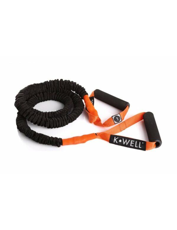 Weerstandselastiek (power elastic tube) Kwell   3 sterktes