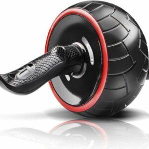 Buikspierwiel / ab wheel Kwell | zwart-rood