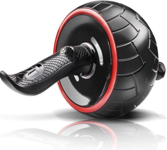 Buikspierwiel / ab wheel Kwell   zwart-rood